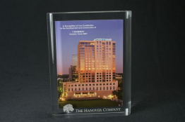 "Rounded Lucite Rectangle Embedment 5 "" x 7 "" x 1 """