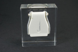"Beveled Lucite Embedment 3 1/2"" x 4 1/2 "" x 2 """
