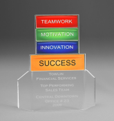 "7"" tall x 6"" wide x 3/16"" thick acylic - Success -"