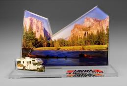 Custom Acrylic Cut Out Example