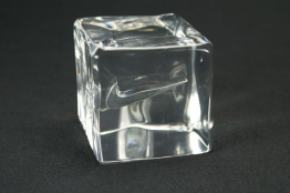 """Acrylic Cube Embedment  3"""" x 3 """" x 3 """""""