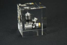 """Acrylic Cube Embedment  5 """" x 5 """" x 5 """""""